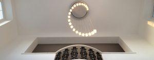 Light installation Dubai